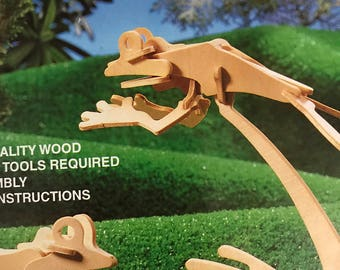 2 in 1 Frog, build your own frog puzzle