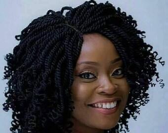 Adeori Kinky Braided wig
