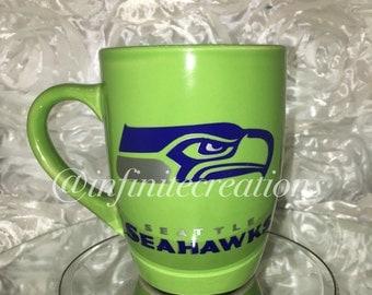 Seattle Seahawks Coffee Mug , Coffee Mug, Seattle Fans