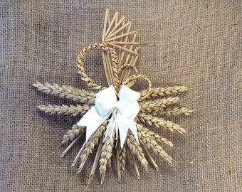 Corn dolly - Sunspray - Unusual gift - Wedding gift - Bridesmaids' gift - Wedding souvenir - Handfasting