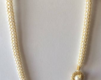 My Beautiful Pearl Antique Elegance Necklace