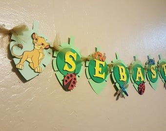 Lion King Banner, Lion Guard Name Banner