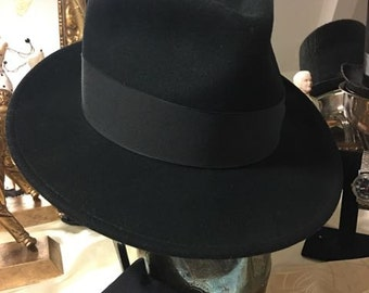 Black Hat with black band