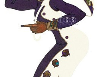 The White umbrella By Charles Bibbs Is limited Edition ,Black art-african american Art-Prints.