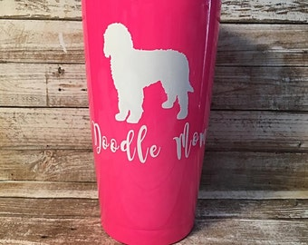 Goldendoodle Decal/Labradoodle Decal/Doodle Mom Decal/Yeti Decal/Dog Decal/Valentines Gift/Gift for Her/Car Decal/Laptop Decal/Birthday Gift