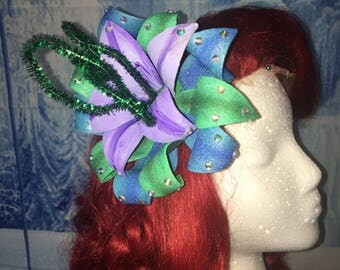 Park Inspired Little Mermaid Hair Piece