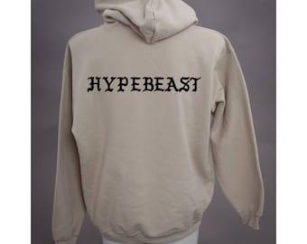 I Feel Like A Hypebeast Cream Hoodie