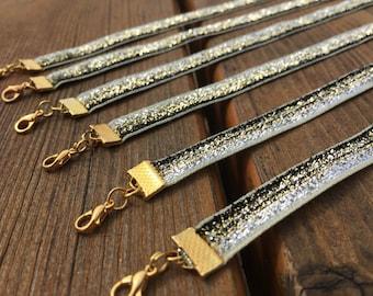 Glitter Choker ~ Gold Choker ~ Sparkly Choker ~ Necklace
