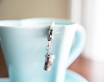 Coffee To Go Cup Progress Keeper/Zipper Pull