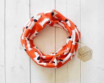 Cowl scarf - Children's scarf - Organic scarf - Organic bib - Modern bib - Modern scarf - Children's cowl scarf