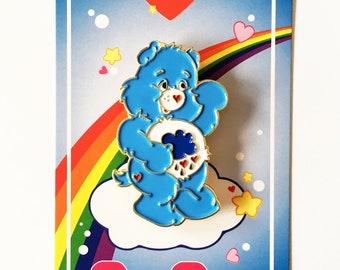 Care Bear Enamel Pin - Grumpy Bear - Lapel Pin - Hat Pin