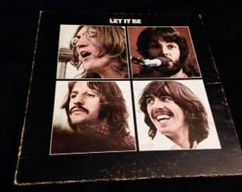 Vintage Vinyl: The Beatles-Let it Be