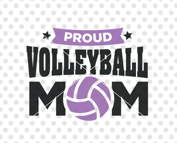 Volleyball Mom Svg Dxf Cutting File Vollyeball Svg Dxf