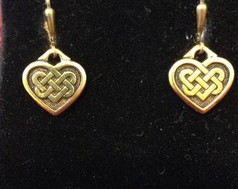 My Celtic Heart Earrings
