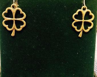 Fiona's Four Leaf Clover Earrings