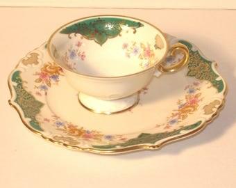 """Vintage 40's """"Eschenbach"""" porcelain, Germany US-Zone 1945-1952"""