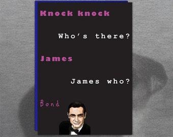 james bond birthday  etsy, Birthday card