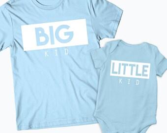 Children's Big Kid Little Kid Shirts Biggie & Smalls Matching Tshirts Onesie Brother Sister Shirts,Brother shirt,Sister shirt,Sibling shirts