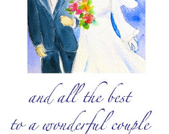 Printable Wedding Card