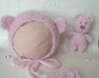 Bear Set for newborn photo shoot