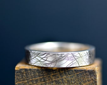 Mycelium Collection Silver Band