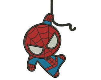 Spider Man Spiderman Embroidery Designs Embroidery Machine Instant Download Q8052