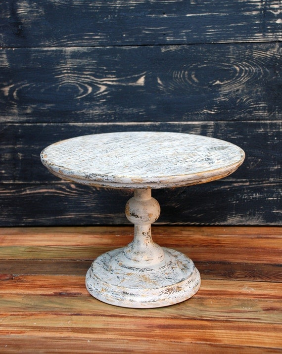 12 inch cake stand 12 14 16 18 inch distressed wooden 1017
