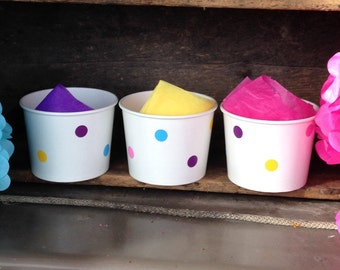 Cupcake Party, Baking Party, Cooking Party 12 oz Snack Cups, Popcorn Cups, Ice Cream Cups - Set of 8, 10, 12, 15,25