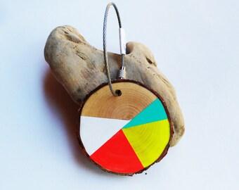 Keyrings/accesories Natural wood