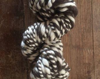 Homespun art yarn - Natural Twist