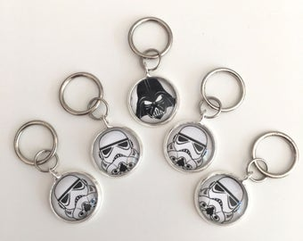 Darth and the Gang Stitch Markers
