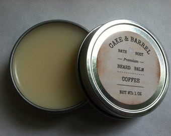 Coffee Infused Beard Balm 1oz