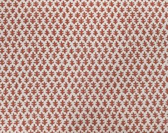 Sister Parish Burma Linen Paprika Fabric by the yard