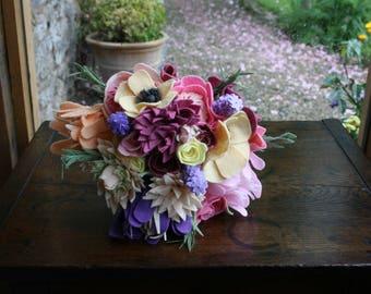 Handmade Felt Bouquet