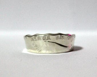 1948 Half Dollar Coin Ring Size 11.5