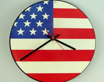 "Apollo 440 - Spirit Of America 12"" Picture Disc Record Clock"