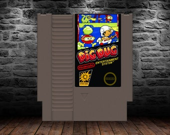Dig Dug - Underground Mayhem you can really Dig into - NES