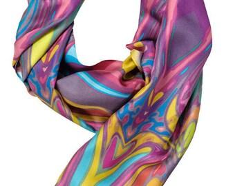 100% Twill Silk Scarf  Item#41216