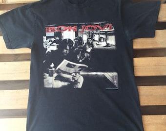 1994 Vintage Bon Jovi t-shirt, band, hair metal, hard rock, jon bon jovi, crossroads, 90's, 1990's, tour, concert, rock, black, 80s, 1980s