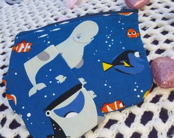 Dory Cosmetic bag and tissue holder