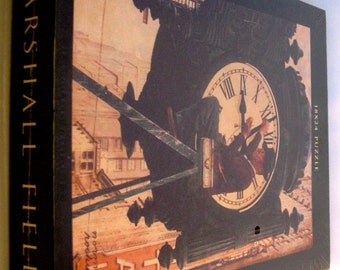 Marshall Field's Archive Clock Puzzle Norman Rockwell Chicago Marshall Field & Co Clock 18 x 24 Jigsaw Puzzle, Factory Sealed