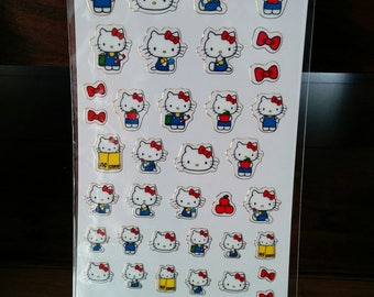 seals of  Sanrio characters, Hello Kitty, made in Japan, limited