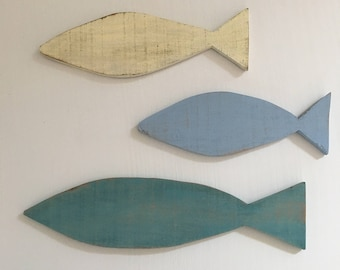 Wooden Fish Family