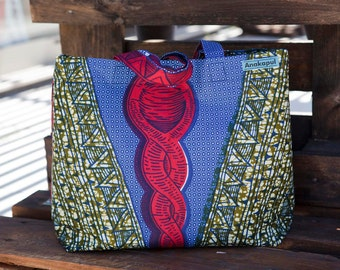 Capulana Bleu Bag