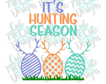 SVG DXF PNG cut file cricut silhouette cameo scrap booking It's Hunting Season