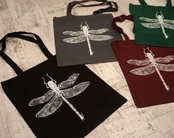 Tote bag- dragonfly print