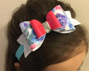 Headbands with big noued for girl and baby!
