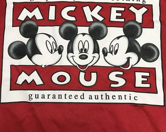Mickey Mouse Crew Neck Sweater Size (XL).