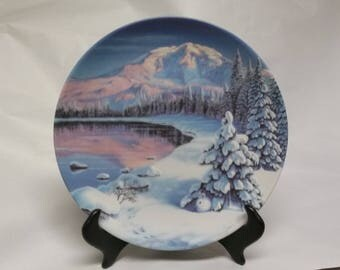 "Collectors Plate ""Twilight Reflections"""