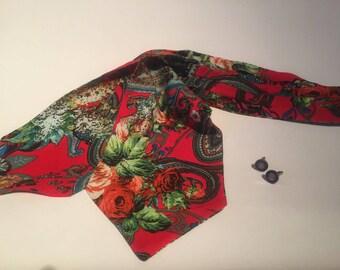 Steampunk Cravat, Vintage Style Cravat, Steampunk Cravat, Gents Cravat, Cravats, Ascot Tie